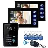 Doradus SYSD SY806MJIDS12 LCD Bildtelefon mit IR Kamera & Codetastatur