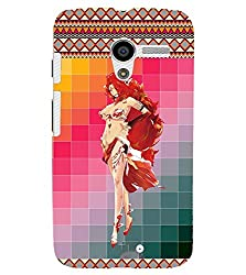 FUSON 3D Designer Back Case Cover for MOTOX D9752