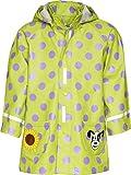 Playshoes - Abrigo impermeable con lunares con capucha de manga larga para niña, talla 10 años (140 cm), color original