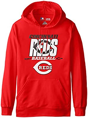 MLB Cincinnati Reds Men's SA2 Fleece Hoodie