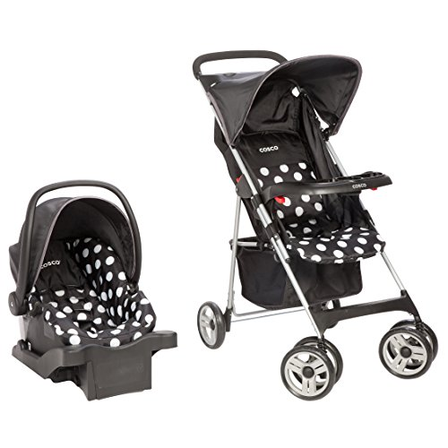 Cosco Commuter Compact Travel System, Retro Dots