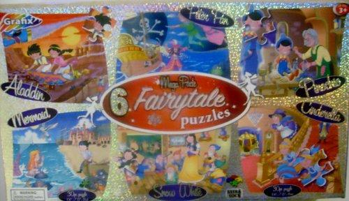 Grafix Puzzle, Mega 6-pack Fairytale Asst - 1