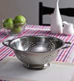 Deep Colander- Stainless Steel - Mayur Exports