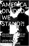 AMERICA DIVIDED WE STAND?!: VOLUME 2: POETRY OF WE THE FORGOTTEN PEOPLE! (AMERICA: DIVIDED WE STAND?!)