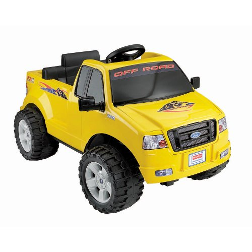 Fisher-Price Power Wheels Lil' Ford F-150 6-Volt Battery-Powered Ride-On Yellow (Ford F 150 Fisher Price compare prices)
