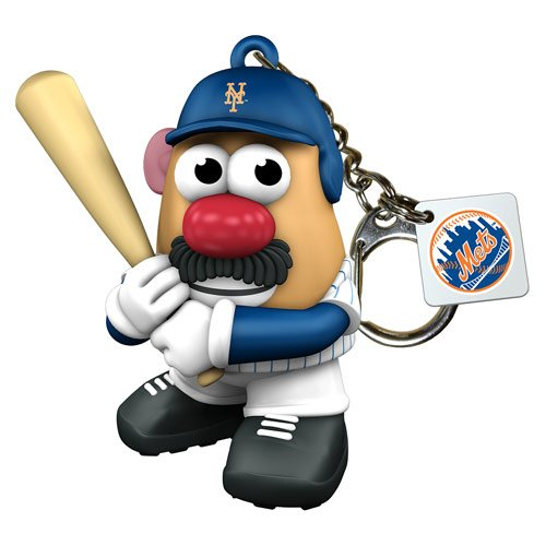 Mlb New York Mets Mr Potato Head Keychain front-913613
