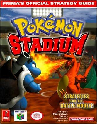 Pokemon Stadium (Prima's Official Strategy Guide)