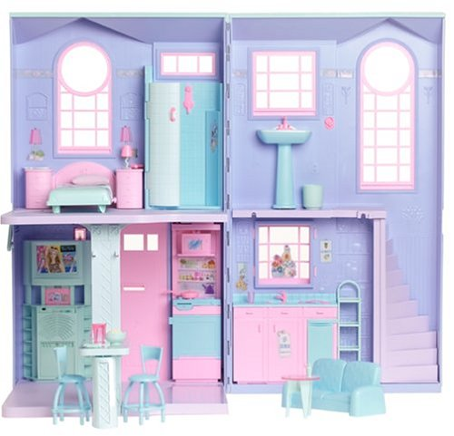 barbie 3 story dream townhouse instructions