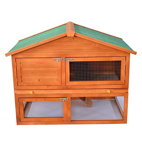 Pawhut-48-in-Deluxe-2-Level-Backyard-Bunny-Rabbit-Hutch-House