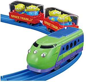 Amazon.com: Tomy Disney Pixar Dream Railway alien space train: Toys