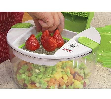 Genius Salad Chopper 19 Cup 6 Pc Food Prep System Home