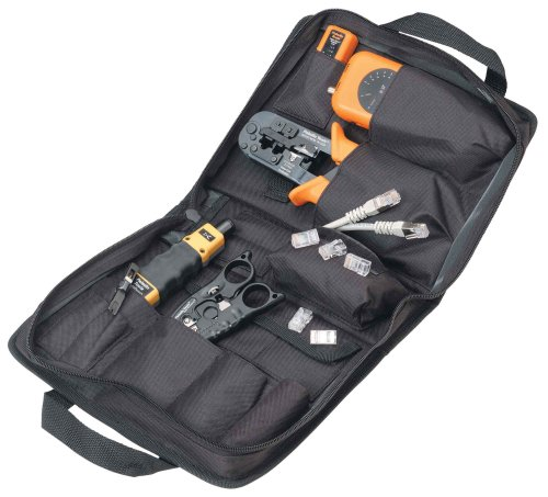 Paladin 901053 DataReady Tool Kit with Data SureStrip All-in-One Multitool Impact Punchdown Tool with 110 66B00006HYW3