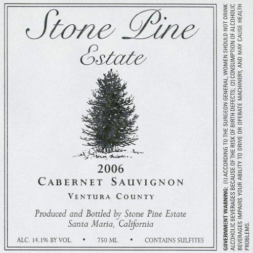 2006 Stone Pine Estate Cabernet Sauvignon Ventura County 750 Ml
