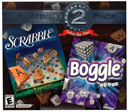 Scrabble & Boggle Twice The Fun (Jewel Case)