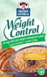 51FWX2x8iAL. SL160  Quaker Instant Oatmeal Weight Control, Banana Bread, 8 Count Boxes (Pack of 4)