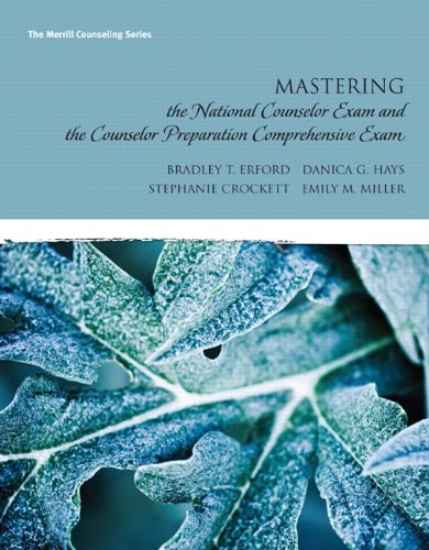 Mastering the National Counselor Exam and the Counselor...