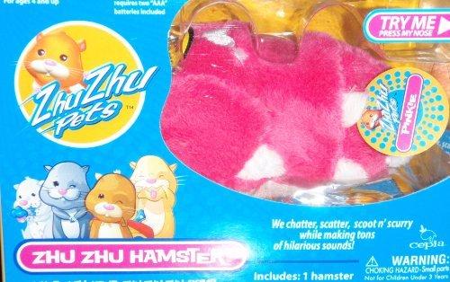 Pink Zhu Zhu Pets Hamster - Pinkie - 1