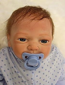 NPK 45 CM 18inch pas cher poupee reborn bébé garcon souple en silicone Vinyle noir Doll réaliste Baby cadeau toddler Magnétique Jouet