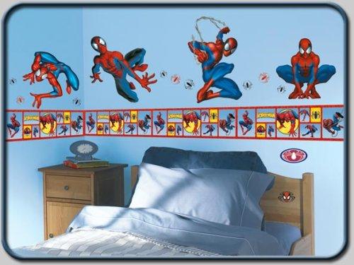 Sandylion Spiderman Wall Stickers