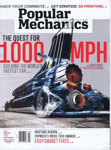 Popular Mechanics [US] March 2014 (単号)
