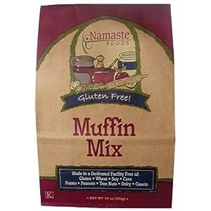 Namaste - Muffin Mix, Gluten Free, Gluten Free, 16 oz (Pack of 5)