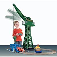 Thomas the Train: TrackMaster Cranky and Flynn Save the Day Playset by Fisher-Price