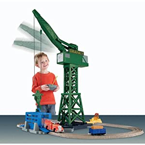 Thomas the Train: TrackMaster Cranky and Flynn Save the Day Playset