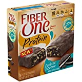 Fiber One Snacks Protein Cookies And Creme Chewy Bars (Pack Of 3)