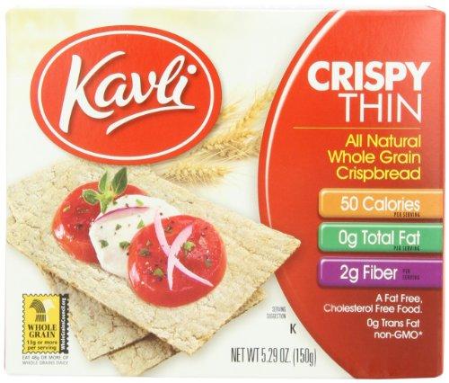 Kavli Crispbreads Crispy Thin Crisp Bread 150 gm (Pack of 12)