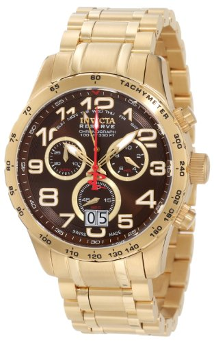invicta-mens-10742-reserve-chronograph-brown-dial-18k-gold-ion-plated-stainless-steel-watch