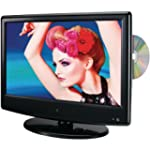 GPX TDE1380B 13.3-Inch LED TV with Bu...