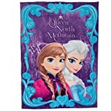 Disney Frozen Anna & Elsa Fleece Blanket (59 x 78 Inches)