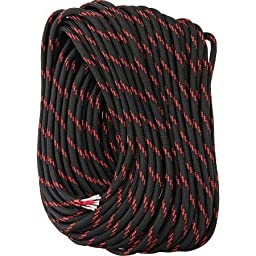 Fire Cord 550 Paracord, Thin Red Line, 50\'