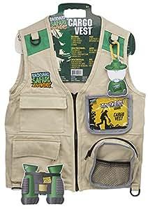 backyard safari cargo vest toys games