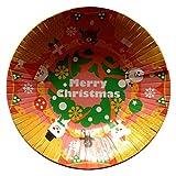 クリスマス!パーティーに!おもてなしに!★紙皿 ペーパー 深皿 ボウル 【ノエル リース】★ (6枚入り)