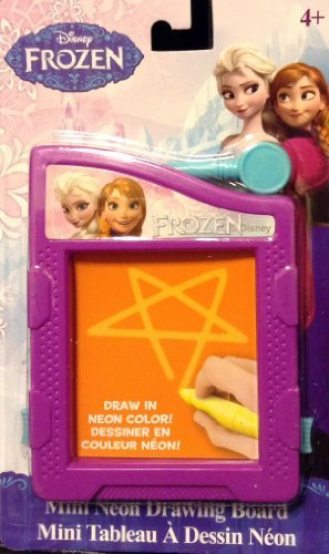 Disney Frozen Mini Neon Drawing Board - 1