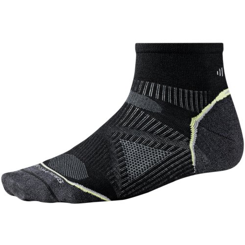 Smartwool Phd Ultra Light Anklet Running Socks - Small - Black