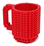 Build-On Brick Mug Red 12 Oz Coffee Mug