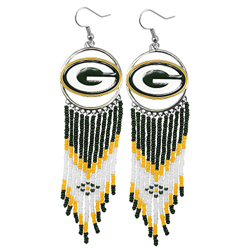 NFL Green Bay Packers Dreamcatcher Earring