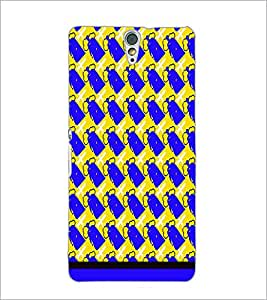 PrintDhaba Pattern D-1654 Back Case Cover for SONY XPERIA C5 ULTRA (Multi-Coloured)