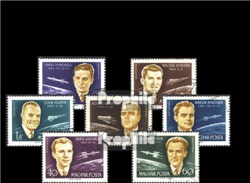 Ungarn 1873A-1879A (kompl.Ausg.) gestempelt 1962 Internat. Raumfahrtkonferenz (Briefmarken für Sammler)