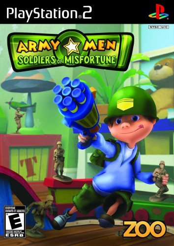 Army Men Soldiers Of Misfortune - Playstation 2 front-258092