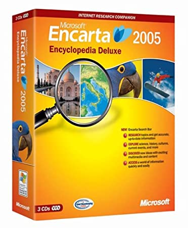 Microsoft Encarta Deluxe 2005 [OLD VERSION]