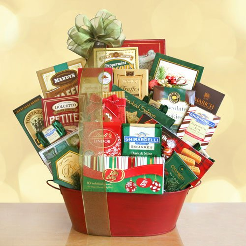 Holiday Gourmet Treats Gift Basket
