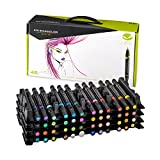 Prismacolor Premier Double-Ended Art Markers, Fine and Brush Tip, 48 Pack