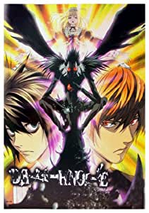 Anime Death Note Light L & Ryuk - High Grade Laminated Poster