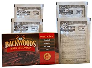 Backwoods Classic Jerky Variety Pack by LEM
