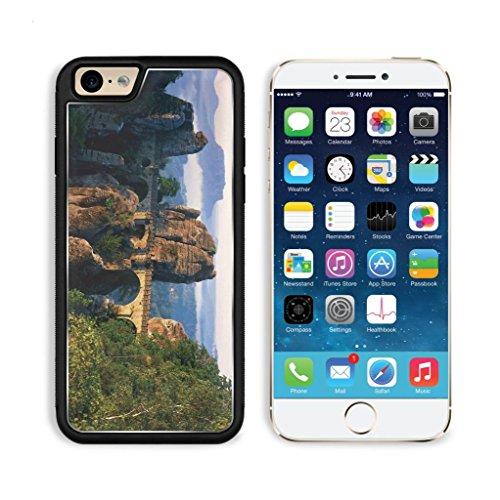 Bridge Stone Nature Landscape Scenery Apple Iphone 6 Tpu Snap Cover Premium Aluminium Design Back Plate Case Customized Made To Order Support Ready Luxlady Iphone_6 Professional Case Touch Accessories Graphic Covers Designed Model Sleeve Hd Template Wallp
