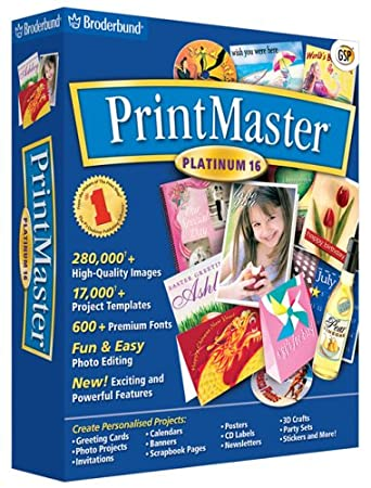 PrintMaster Platinum 16 (PC) [import anglais]