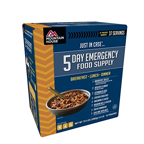 Mountain House 5 Day Emergency Food Supply (Freeze Dried Hash Browns compare prices)
